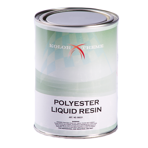 066331 Kolor  Xtreme  Fiberglass  Liquid  Resin  Liter
