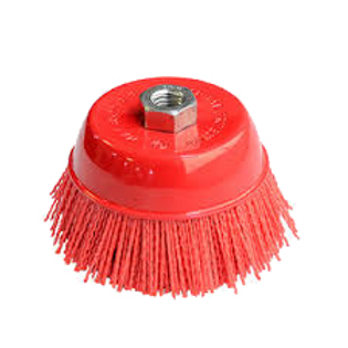 """AES51886 AES 6""""  Nylon  Cup  Brush"""