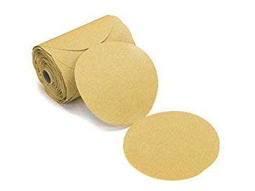 """6C240 Gold 6""""  Da PSA  Sand  Paper 240"""
