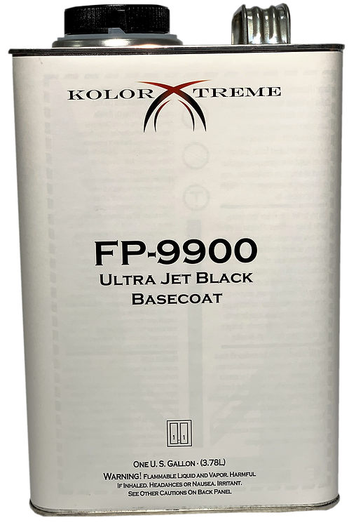 FP9900 Kolor  Xtreme  Deep  Black  Basecoat  Gal.