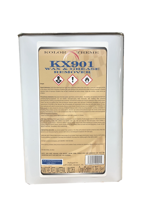 KX901 Kolor  Xtreme  Wax &  Grease  Remover