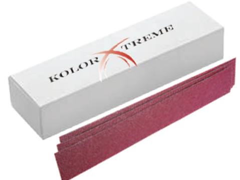88-64-80 Kolor  Xtreme 2-3/4 x 16-1/2  Long  File 80 50 pcs