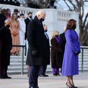 バイデン大統領就任式の女性陣の紫ファッションの意味