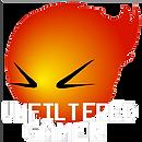 Unfiltered Gamer logo white (transparent