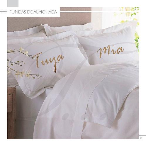 Fundas de almohada (2 fundas)