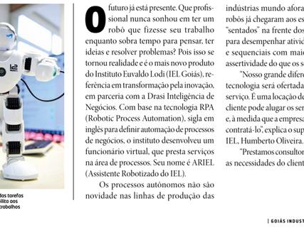 IEL Goiás conta com um novo funcionário virtual - RPA