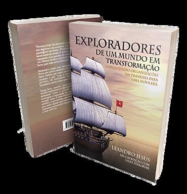 Livro Exploradores de um Muno em Transformção