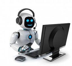 Robô trabalhando