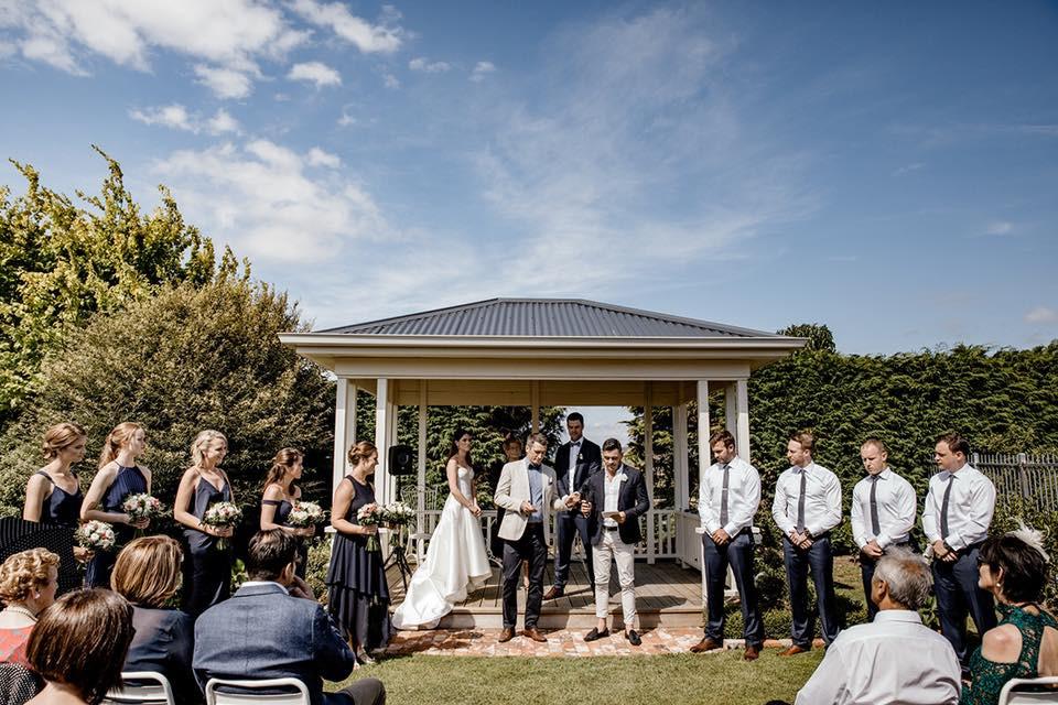 Garden Ceremony - Broadlands Lodge
