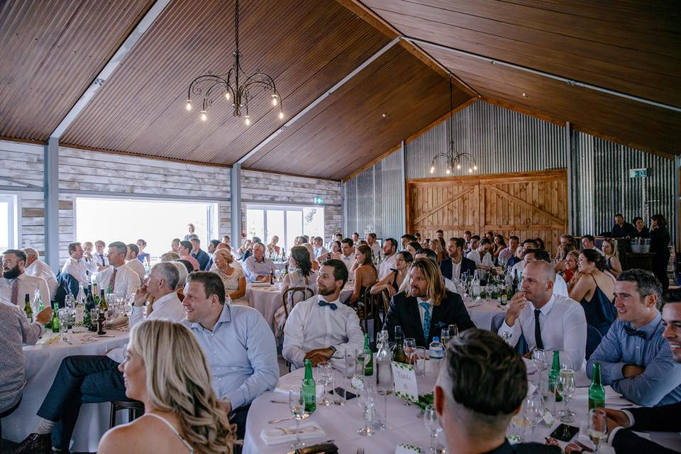 Rustic Barn, Taupo Wedding Venue - Broadlands Lodge