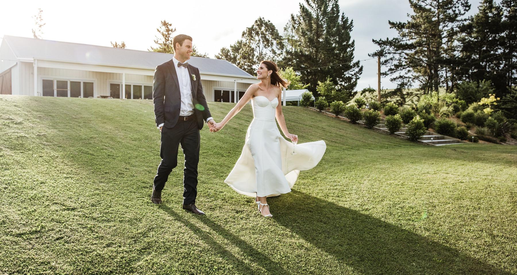 Country Wedding Taupo - Broadlands Lodge