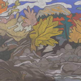 26416 - Autumn Colors on Johns Brook