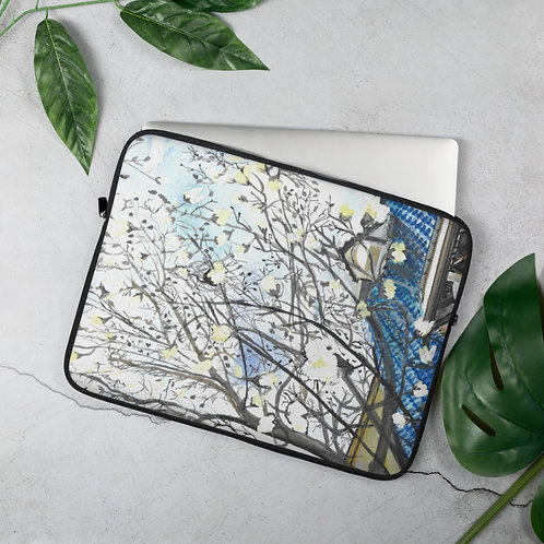 Magnolias in Japan Laptop Sleeve