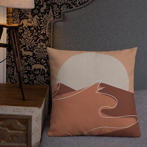 Dunes by Rageshree | Premium Pillow