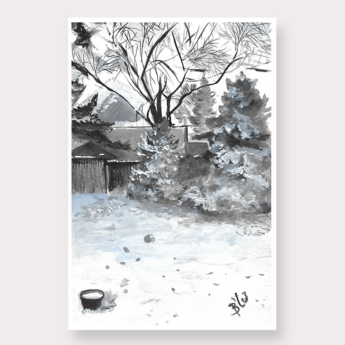 A Snowy Afternoon