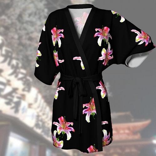 Lily Noir by B'lu | Kimono Robe