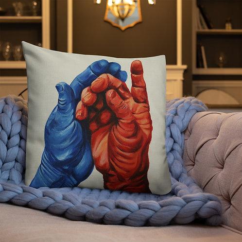 Conversation by Romy Ravindran | Premium Pillow