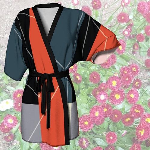 Criss Cross Apple Sauce by Rageshree | Kimono Robe