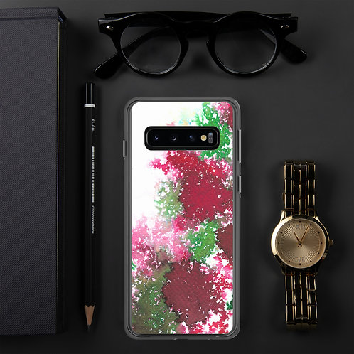 Red & Green Ink Splatter Samsung Case