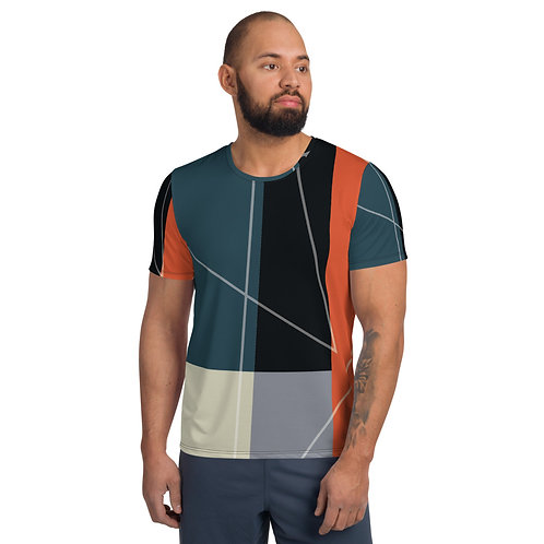 Criss Cross Apple Sauce by Rageshree | All-Over Print Men's Athletic T-shirt