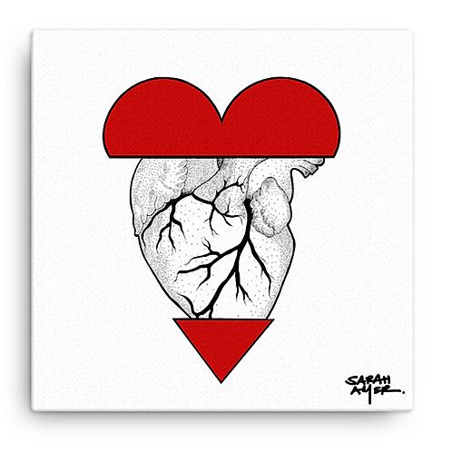 Have Heart | Sarah Amer | Canvas print