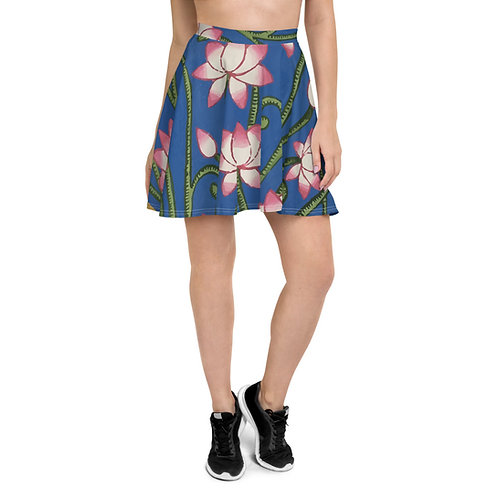 Pichwai design by Rageshree | Skater Skirt