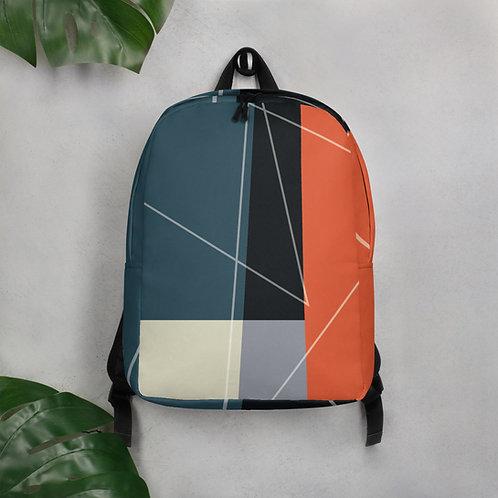 Criss Cross Apple Sauce Design by Rageshree | Minimalist Backpack