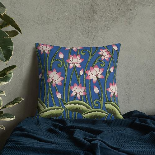 Pichwai design by Rageshree   Premium Pillow