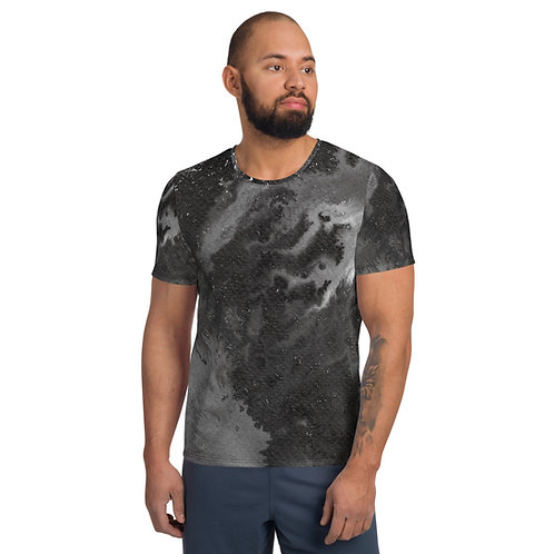 'BLACK SHEEP' ink painting by Ashvin on All-Over Print Men's Athletic T-shirt