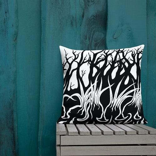 Grassroots Movement by Arsnecopinata | Premium Pillow