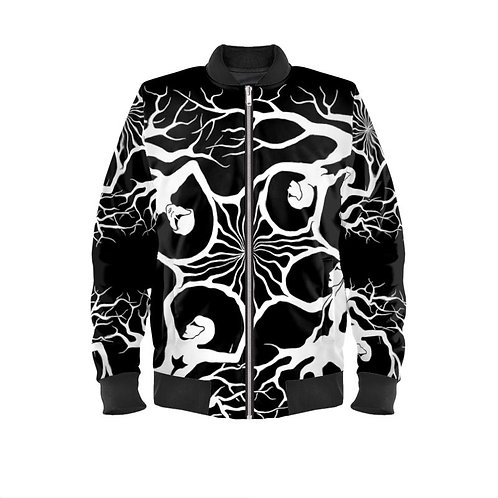 Collaboration by arsnecopinata | Mens' Bomber Jacket