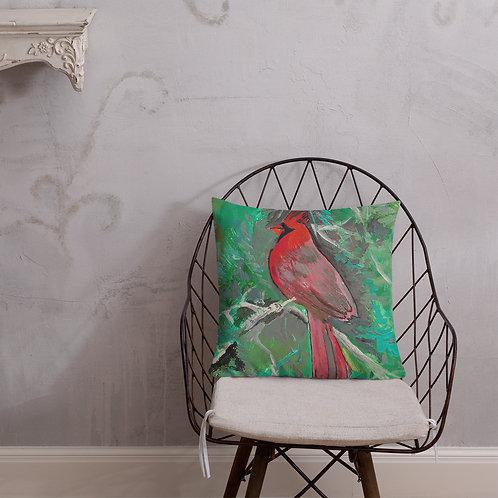 Cardinal Premium Pillow