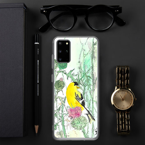 Goldfinch Water-colour by B'lu | Samsung Case