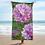 Thumbnail: Dahlia Acrylic painting by B'lu Printed on a Towel