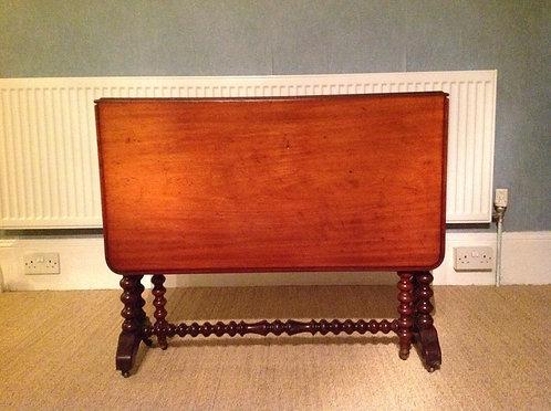 Antique Victorian (c 1880) Mahogany Sutherland Table