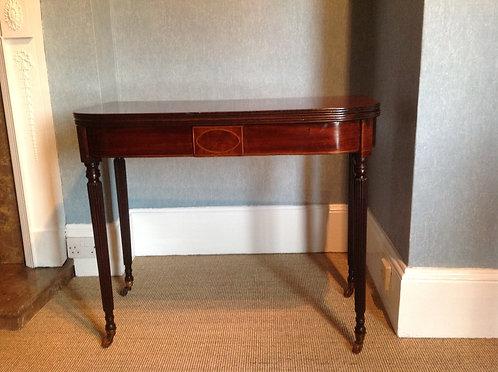 Regency Manner of Gillows Mahogany Tea Table