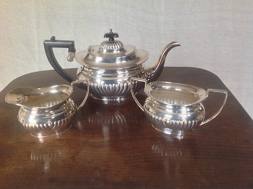 Philip Ashberry & Sons Silver Plated Tea Set