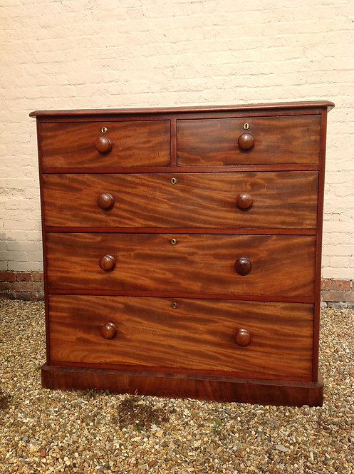 Victorian (c1850) Mahogany Chest of Drawers