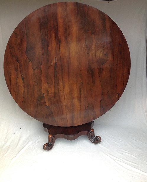 William IV (c1820) Rosewood Breakfast Round Table
