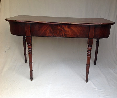 Antique George III (c 1790) Mahogany Side Table