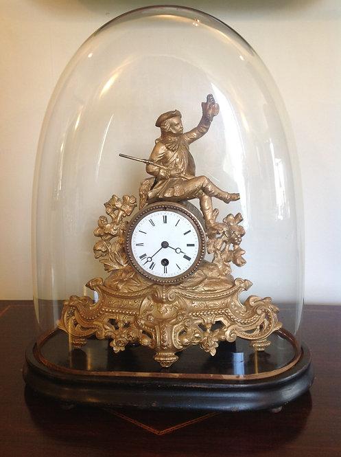 French Empire (c 1867) Victor Reclus Mantel Clock
