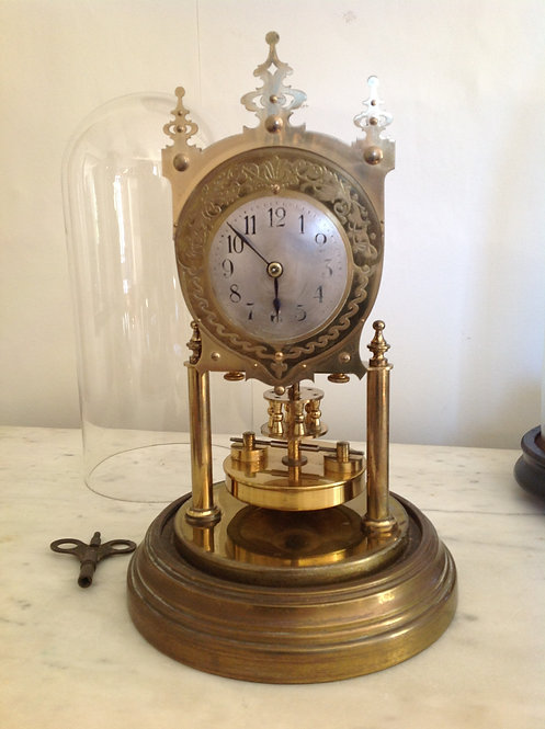 400 Day G. Becker 1920 Anniversary Torsion Clock