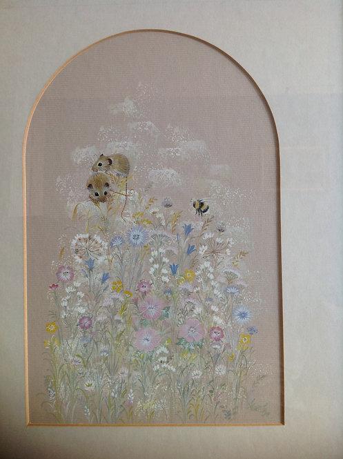 "Diane Elson (British, b 1953) "" Summer Meadow"""