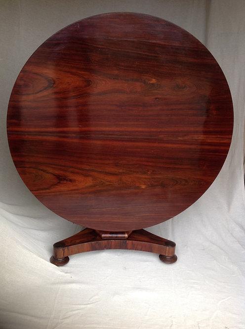 William IV (c 1830) Rosewood Breakfast Table