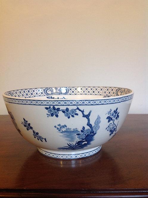 Antique Large Tokio Bowl by Adams of Tunstall, UK