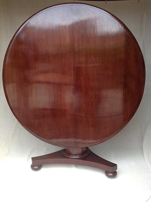 Antique Victorian (c1880) Mahogany Tilt Top Table