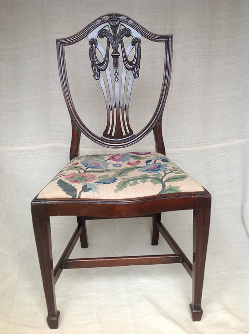 19th C Chair in the Manner of G.Hepplewhite