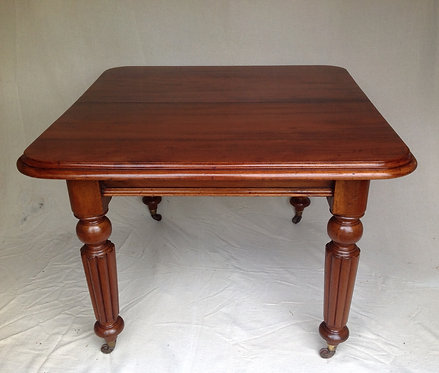 Antique Victorian Small Mahogany Extendable Table