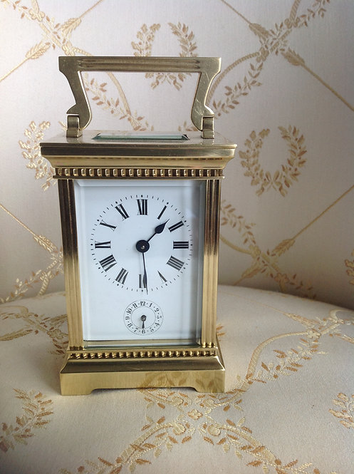 19th C French Carriage Clock by Duverdry & Bloquel