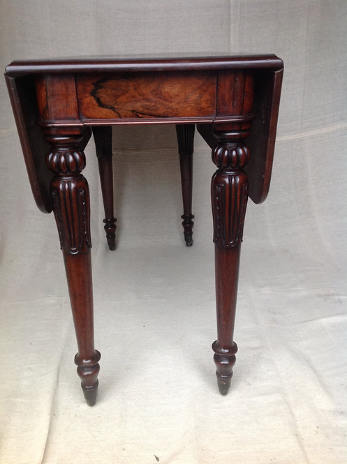 William IV (c 1830) Rosewood and Mahogany Pembroke